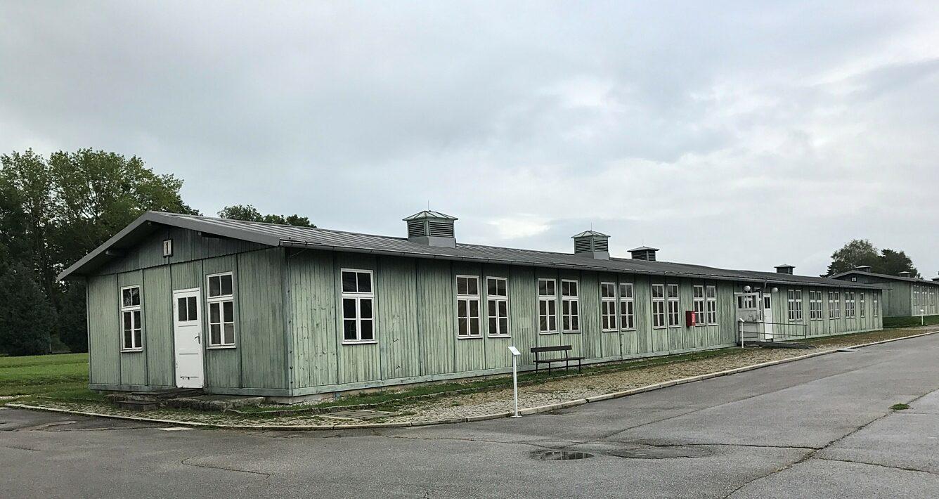 Die Baracke 1 des ehemaligen KZ Mauthausen beherbergte seit 1942 das Lagerbordell.